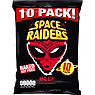 Space Raiders Beef Flavour Cosmic Corn Snacks 10 x 11.8g