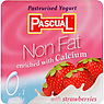 Pascual Non Fat Pasteurised Yogurt with Strawberries 4 x 125g