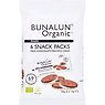 Bunalun Organic Snack Packs Milk Chocolate Mini Rice Cakes 6 x 14g (84g)