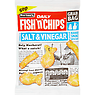Burton's Daily Fish 'n' Chips Lashings of Salt & Vinegar Flavour Baked Snack Biscuits 40g