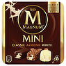 Magnum Mini Classic, Almond & White Ice Cream 6 X 55ml White