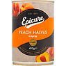 Epicure Peach Halves in Syrup 410g
