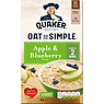 Quaker Oat So Simple Apple & Blueberry Porridge 10x36g