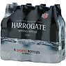 Harrogate Spring Water Still Sports Bottles 8 x 500ml