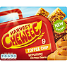 Harvest Cheweee 9 Toffee Chip Scrummy Cereal Bars 198g