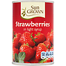 Sun Grown Strawberries in Light Syrup 411g