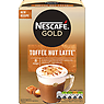 NESCAFE GOLD Toffee Nut Latte Coffee, 8 Sachets x 19.5g