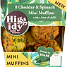 Higgidy Family Kitchen 8 Cheddar & Spinach Mini Muffins 160g