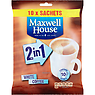Maxwell House 2 in 1 White Coffee x10