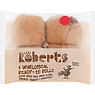 Roberts 4 Wholemeal Ready-to Rolls