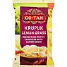 Go-Tan Krupuk Lemon Grass Indonesian Prawn Crackers with Lemon Grass 75g