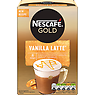 NESCAFE GOLD Vanilla Latte Coffee, 8 Sachets x 18.5g