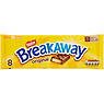 Breakaway Milk Chocolate Biscuit Bar 8 Pack