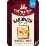 Cathedral City 6 Slices Lighter Cheese 150g