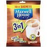Maxwell House 3 in 1 White Coffee + Sugar x10
