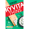 Ryvita Thins Rosemary & Sea Salt Flatbreads 125g