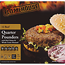 Flamehouse 12 Beef Quarter Pounders with Red Onion & Whole Grain Mustard 1.36kg