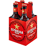 Estrella Damm Lager Bottle 4 x 330ml
