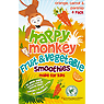 Happy Monkey Fruit & Vegetable Smoothies Orange, Carrot & Parsnip 4 x 180ml