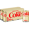 Diet Coke Caffeine Free 8 x 330ml