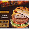 Flamehouse 12 100% Beef Quarter Pounders 1.36kg