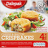 Dalepak Cheese & Bacon Crispbakes 4 Pack 400g