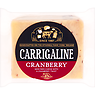 Carrigaline Cranberry Semi Firm Cheese with a Cranberry Twist 150g