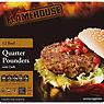 Flamehouse 12 Beef Quarter Pounders with Chilli 1.36kg