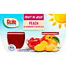 Dole Fruit in Jelly Peaches in Strawberry Flavour Jelly 4 x 123g (492g)