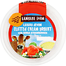 Langage Farm Luxury Devon Clotted Cream Yogurt with Senga Strawberries 170g