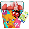 Moshi Monsters Springtime Bucket with Chocolate Eggs and Jammy Mallows 78g Marsh Mallow