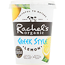Rachel's Organic Greek Style Lemon Naturally Bio-Live Yogurt 450g