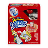 Dannon Danimals Squeezables Lowfat Yogurt Pouches Strawberry Milkshake - 4 CT