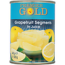 Premier Gold Grapefruit Segments in Juice 540g