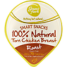 Green Farm Smart Snacks 100% Natural Torn Chicken Breast Roast 60g