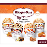 Haagen-Dazs Caramel Collection Mini Cups Ice Cream 4 x 100ml Speculoos Caramel Biscuit & Cream