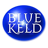 Blue Keld Sparkling Raspberry & Strawberry Water 500ml