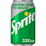 Sprite No Sugar 330ml Can