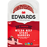 Edwards of Conwy 2 Welsh Beef Steak Burgers 320g