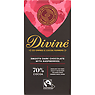 Divine Fairtrade Chocolate Smooth Dark with Raspberries 90g
