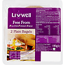 Livwell Free From 2 Plain Bagels 180g