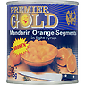 Premier Gold Broken Mandarin Orange Segments in Light Syrup 312g