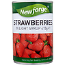 Newforge Strawberries in Light Syrup 415g