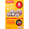Tunnock's Snowballs Coconut Covered Marshmallows 6 x 30g (180g)