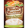 World Harvest Chicken & Vegetable Cup Soup with Croutons 100g