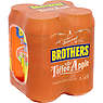 Brothers Toffee Apple Premium Cider 4 x 440ml
