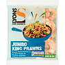 Lyons Seafood Co Jumbo King Prawns 180g Net of Ice Glaze